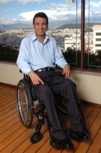 Ο πρόεδρος του Ισημερινού, Lenín Moreno