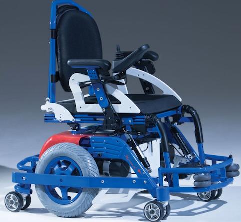 Ηλεκτροκίνητο αναπηρικό κάθισμα για Hockey