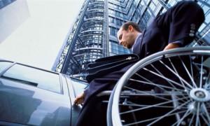 wheelchair user logo
